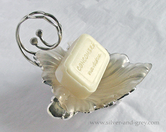 English Victorian silver plated butter dish-2