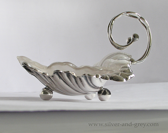 English Victorian silver plated butter dish-4