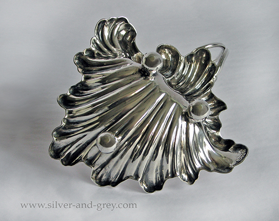 Victorian silver plated butter dish-1